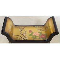 View 2: Lacquer Asian Bench
