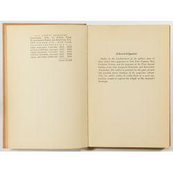 "View 4: Ogden Nash ""Hard Lines"" Autographed Book"