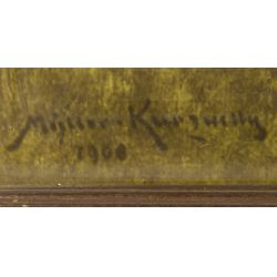 "View 2: Conrad Muller Kurzwelly (German, 1855-1914) ""Seascape"" Print"