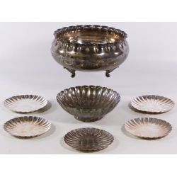 View 2: Asian Silverplate Hollowware