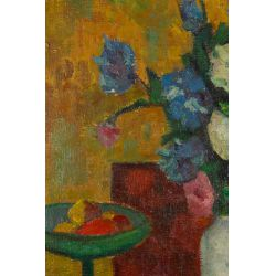 "View 3: Jan Cybis (Polish, 1897-1972) ""Still Life"" Oil on Canvas"