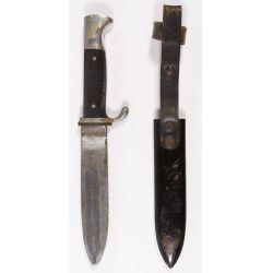 View 2: World War II German Hitler Youth Knife and Sheath