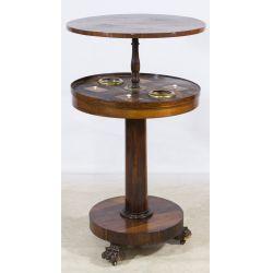 View 2: Round Smoking Table