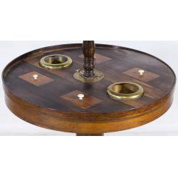 View 3: Round Smoking Table