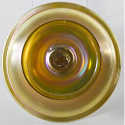 View 3: Louis Comfort Tiffany Gold Aurene Compote