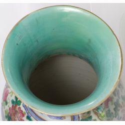 View 3: Famille Rose Asian Ceramic Vases