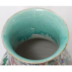 View 4: Famille Rose Asian Ceramic Vases