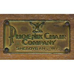 View 3: Walnut Folding Chair by The Phoenix Chair Company