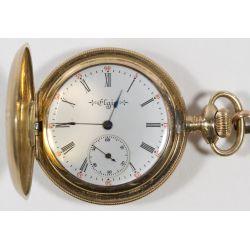 View 4: Elgin Gold Filled Full Hunter Case Pocket Watch