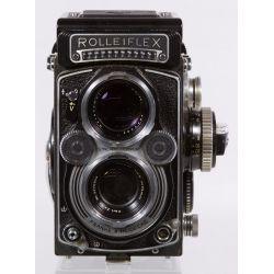View 3: Frank & Heidecke Rolleiflex DBP DBGM Synchro-Compur Camera