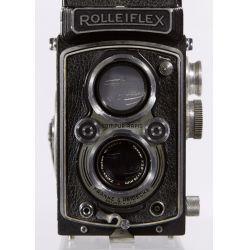 View 3: Frank & Heidecke Rolleiflex DRP DRGM Compur-Rapid Camera
