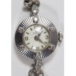 View 2: Bucherer 18k Gold and Diamond Cased Wrist Watch