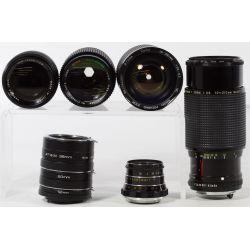 View 3: Camera Lens Assortment
