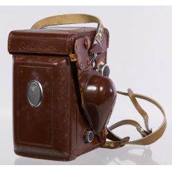 View 4: Frank & Heidecke Rolleiflex DBP DBGM Synchro-Compur Camera