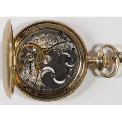 View 5: Elgin Gold Filled Full Hunter Case Pocket Watch