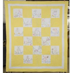View 2: Plush Animal and Baby Quilt Assortment