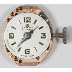 View 3: Bucherer 18k Gold and Diamond Cased Wrist Watch
