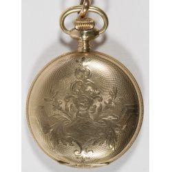 View 2: Elgin Gold Filled Full Hunter Case Pocket Watch