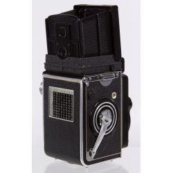 View 2: Frank & Heidecke Rolleiflex DBP DBGM Synchro-Compur Camera