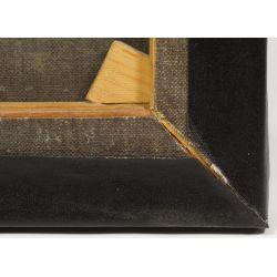 "View 9: European School (17th Century) ""Head of Christ"" Oil on Canvas"