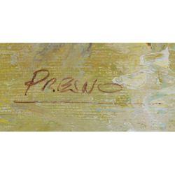 View 2: Presno (20th Century) Oil on Canvas