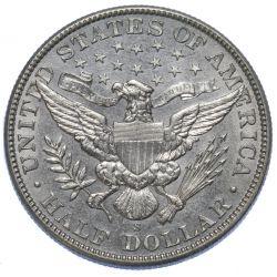 View 2: 1905-S 50c AU Details