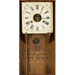 View 2: Seth Thomas Mahogany Shelf Clock