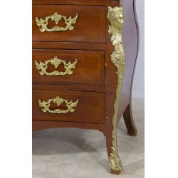 View 2: Louis XV Style Mahogany Commode