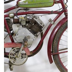 View 4: Whizzer Motorbike on an Elgin Frame
