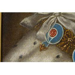 "View 8: European School (19th Century) ""The Old Pretender"" Oil on Canvas"