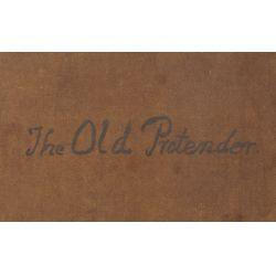 "View 5: European School (19th Century) ""The Old Pretender"" Oil on Canvas"