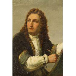 "View 2: European School (19th Century) ""Nobleman"" Oil on Canvas"