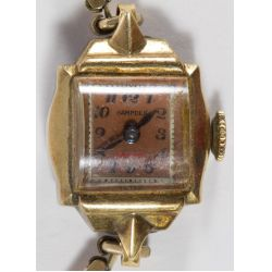 View 7: Ladies 14k Gold Cased Wrist Watch Assortment