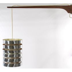 View 2: Danish Modern Wall Mount Lamp by Carl Thore