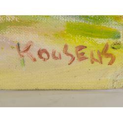 "View 3: Lou Kousens (American, 1899-1997) ""Covered Bridge"" Oil on Board"
