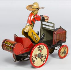 """View 2: Marx """"Whoopee Car"""" Tin Wind-Up Toy"""