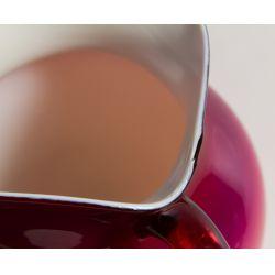 View 3: Wheeling Peachblow Art Glass Pitcher