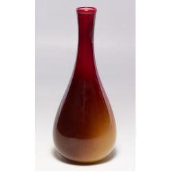 View 2: Wheeling Peachblow Art Glass Vase