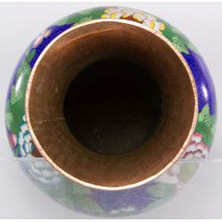 View 2: Chinese Cloisonne Vase