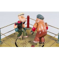 """View 3: Marx """"Popeye the Champ"""" Tin Wind-Up Toy"""
