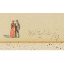 "View 2: H D Nichols (19th Century) ""Colombian Exposition"" Print"