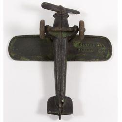"View 3: Kenton ""Air Mail"" Cast Iron Toy Airplane"