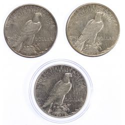 View 2: 1925-S, 1927-S, 1928-S $1 XF