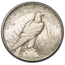 View 2: 1921 $1 Peace XF Details