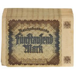 View 2: 1922 German 5000 Mark Banknotes P81