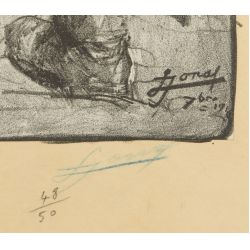 View 3: Lucien Hector Jonas (French, 1880-1947) World War I Lithograph