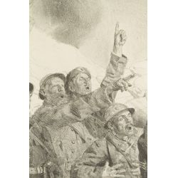 View 2: Lucien Hector Jonas (French, 1880-1947) World War I Lithograph