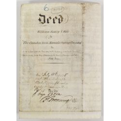 View 3: Patent Document and Antique Deed