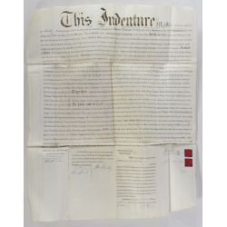 View 2: Patent Document and Antique Deed