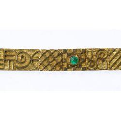 View 3: 22k Gold Hand Made Link Bracelet
